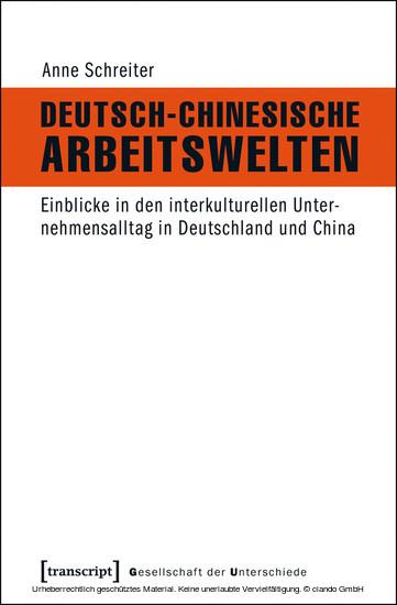Deutsch-Chinesische Arbeitswelten - Blick ins Buch