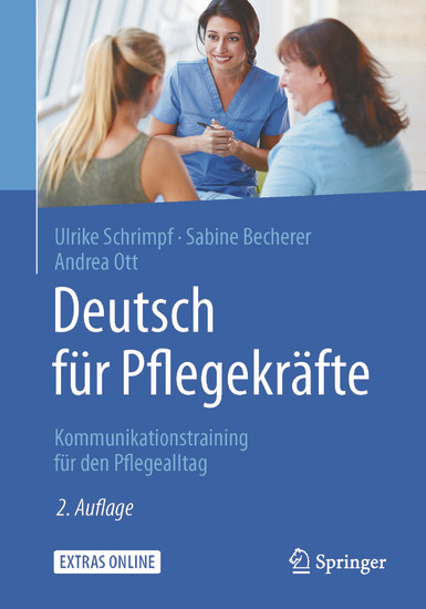 Deutsch für Pflegekräfte - Blick ins Buch