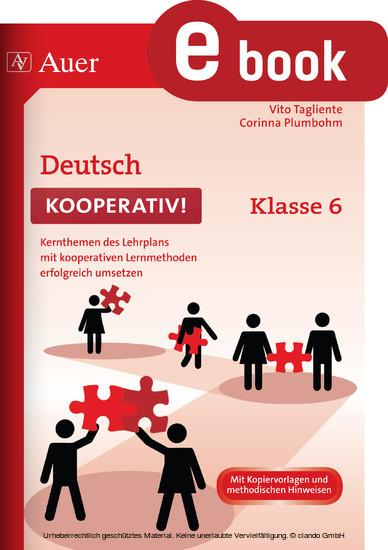 Deutsch kooperativ Klasse 6 - Blick ins Buch
