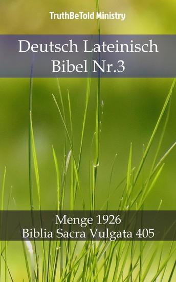 Deutsch Lateinisch Bibel Nr.3 - Blick ins Buch