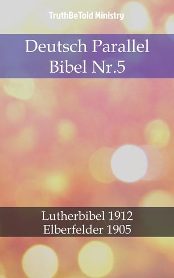 Deutsch Parallel Bibel Nr.5 - Blick ins Buch