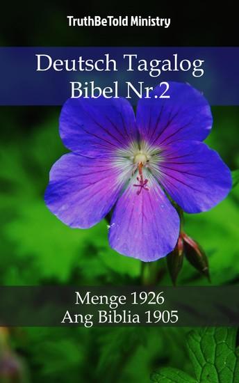 Deutsch Tagalog Bibel Nr.2 - Blick ins Buch