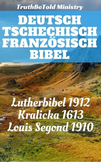 Deutsch Tschechisch Französisch Bibel - Blick ins Buch