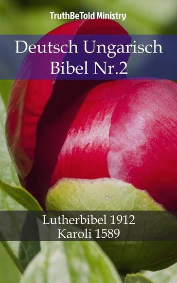 Deutsch Ungarisch Bibel Nr.2 - Blick ins Buch