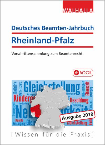 Deutsches Beamten-Jahrbuch Rheinland-Pfalz Jahresband 2019 - Blick ins Buch