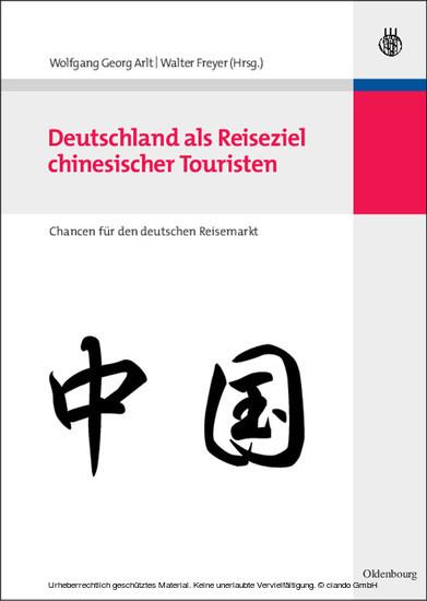 Deutschland als Reiseziel chinesischer Touristen - Blick ins Buch