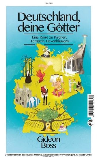 Deutschland, deine Götter - Blick ins Buch
