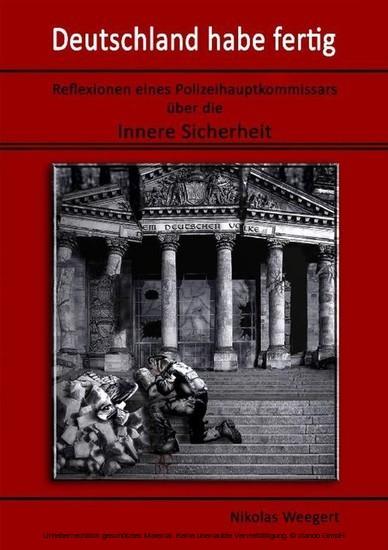 Deutschland habe fertig - Blick ins Buch