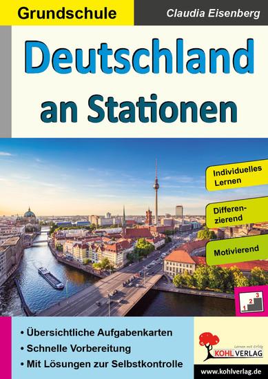 Deutschland an Stationen / Grundschule - Blick ins Buch