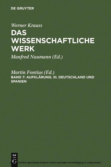 Deutschland und Spanien - Blick ins Buch