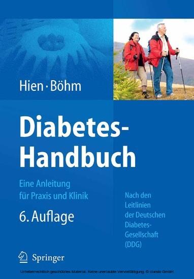 Diabetes-Handbuch - Blick ins Buch