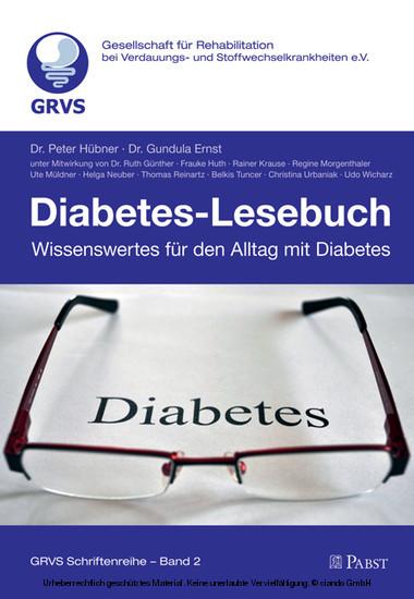 Diabetes-Lesebuch - Wissenswertes für den Alltag mit Diabetes - Blick ins Buch