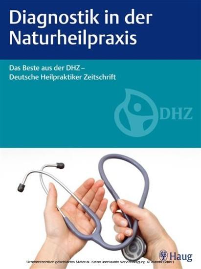 Diagnostik in der Naturheilpraxis - Blick ins Buch