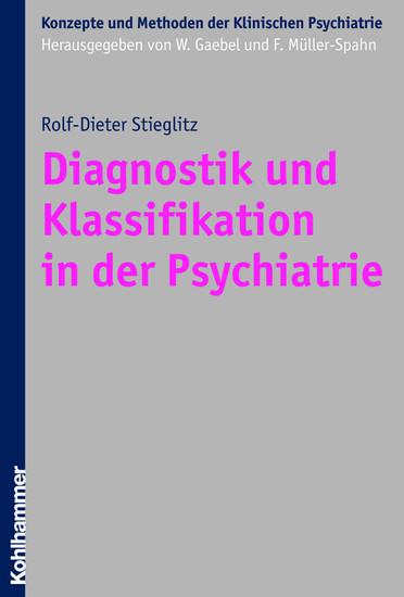 Diagnostik und Klassifikation in der Psychiatrie - Blick ins Buch