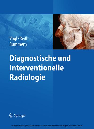 Diagnostische und interventionelle Radiologie - Blick ins Buch