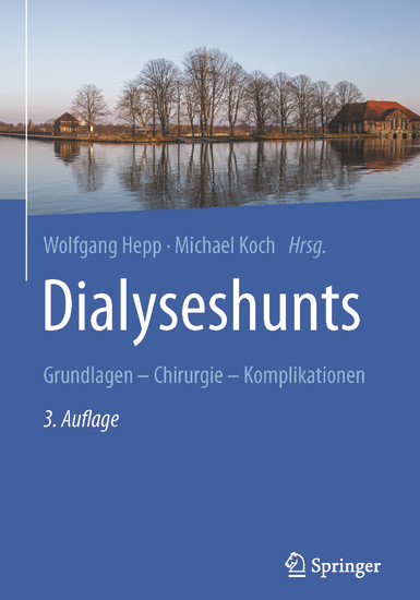 Dialyseshunts - Blick ins Buch