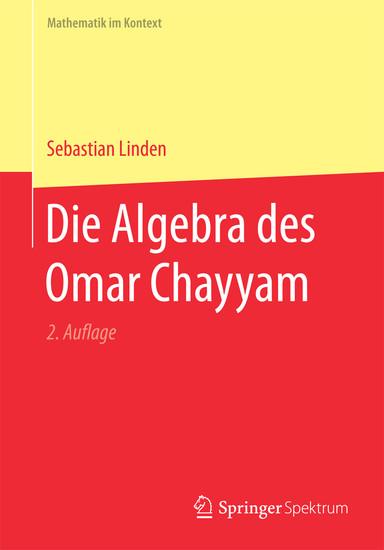 Die Algebra des Omar Chayyam - Blick ins Buch