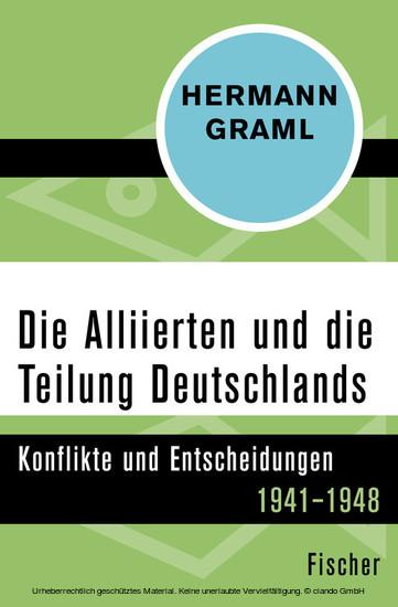 Die Alliierten und die Teilung Deutschlands - Blick ins Buch