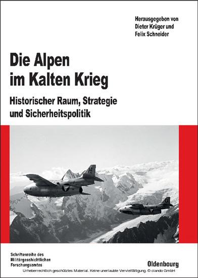 Die Alpen im Kalten Krieg - Blick ins Buch