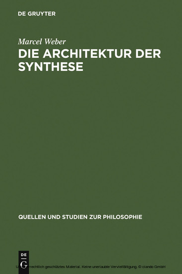 Die Architektur der Synthese - Blick ins Buch