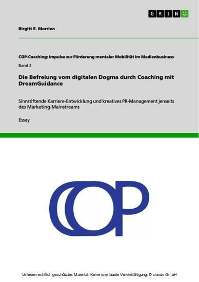 Die Befreiung vom digitalen Dogma durch Coaching mit DreamGuidance - Blick ins Buch