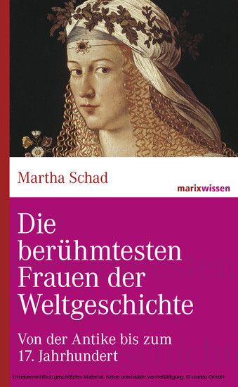 Die berühmtesten Frauen der Weltgeschichte - Blick ins Buch