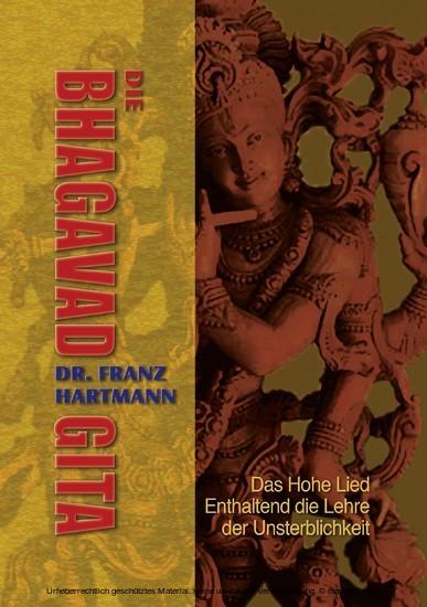 Die Bhagavad Gita - Blick ins Buch