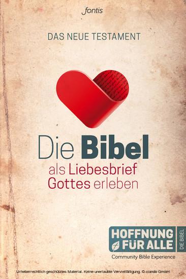 Die Bibel als Liebesbrief Gottes erleben - Blick ins Buch