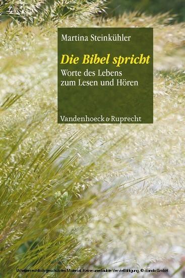 Die Bibel spricht - Blick ins Buch