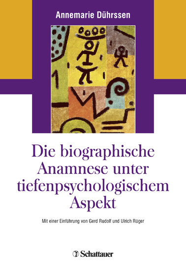Die biografische Anamnese unter tiefenpsychologischem Aspekt - Blick ins Buch