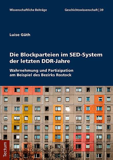 Die Blockparteien im SED-System der letzten DDR-Jahre - Blick ins Buch