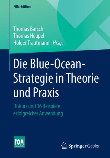 Die Blue-Ocean-Strategie in Theorie und Praxis - Blick ins Buch