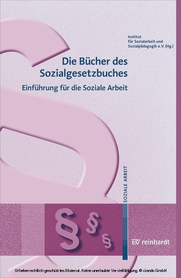 Die Bücher des Sozialgesetzbuches - Blick ins Buch