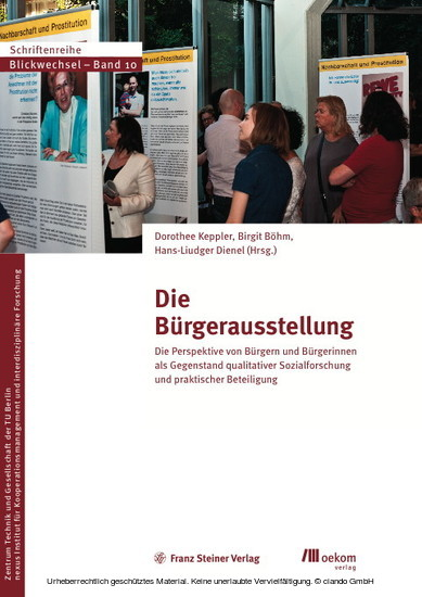 Die Bürgerausstellung - Blick ins Buch