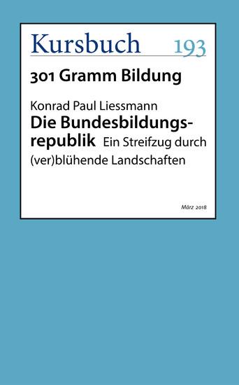 Die Bundesbildungsrepublik - Blick ins Buch