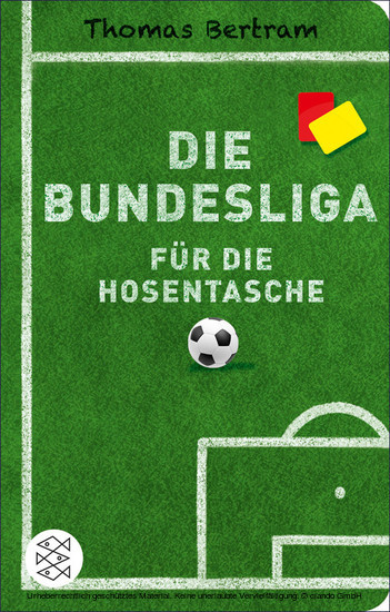 Die Bundesliga für die Hosentasche - Blick ins Buch
