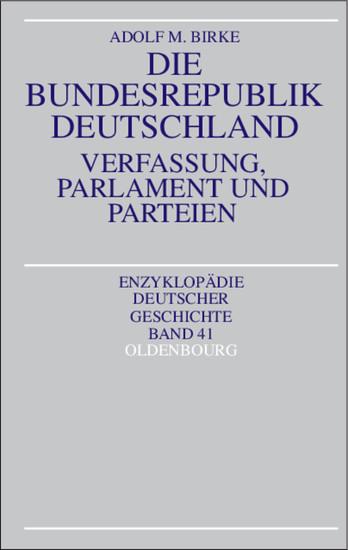Die Bundesrepublik Deutschland - Blick ins Buch