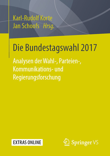 Die Bundestagswahl 2017 - Blick ins Buch