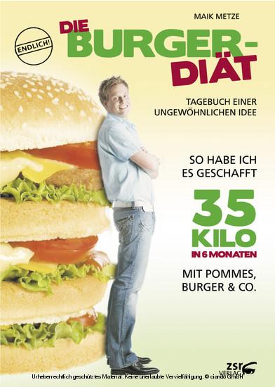 Die Burger-Diät - Blick ins Buch