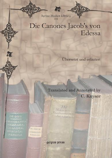 Die Canones Jacob's von Edessa - Blick ins Buch