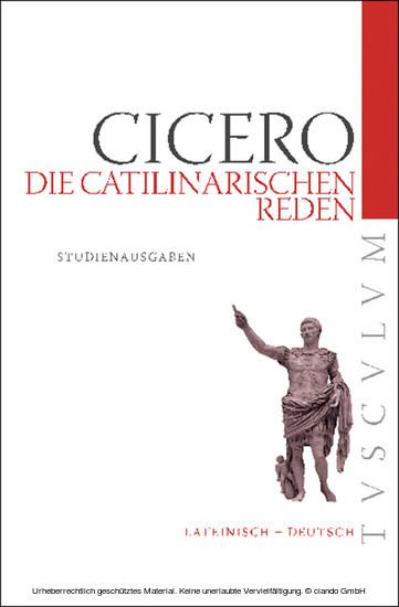Die Catilinarischen Reden - Blick ins Buch