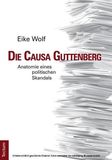 Die Causa Guttenberg - Blick ins Buch