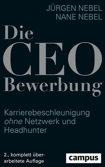 Die CEO-Bewerbung - Blick ins Buch