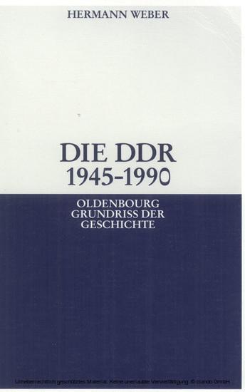 Die DDR 1945-1990 - Blick ins Buch