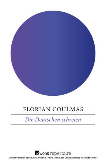 Die Deutschen schreien - Blick ins Buch