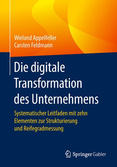 Die digitale Transformation des Unternehmens - Blick ins Buch