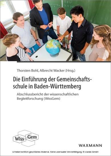 Die Einführung der Gemeinschaftsschule in Baden-Württemberg - Blick ins Buch