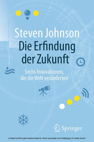 Die Erfindung der Zukunft - Blick ins Buch