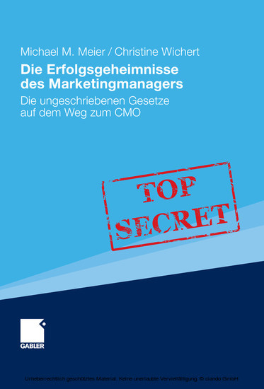 Die Erfolgsgeheimnisse des Marketingmanagers - Blick ins Buch