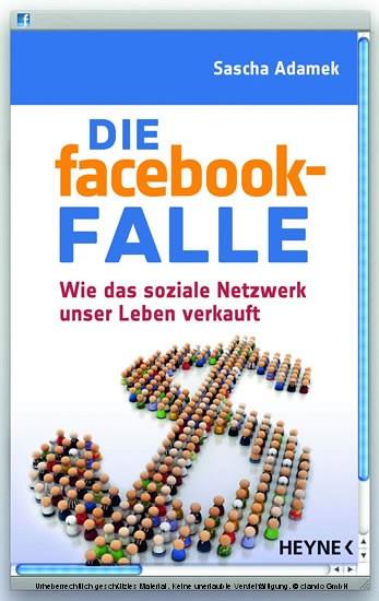 Die facebook-Falle - Blick ins Buch